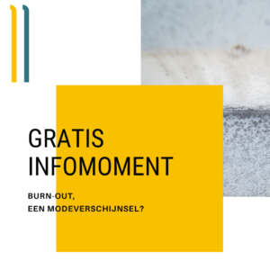 Gratis Infomoment Burn-out